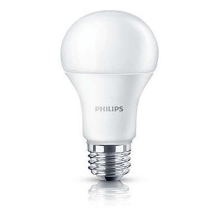 Pack 10 Lamparas LEDBulb Philips 7.5W E27 6500K Blanco Frio