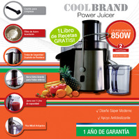 Juguera Coolbrand Power Juicer 850 W