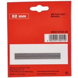 Cuchillas para Cepillo 82MM Milwaukee 4932273484
